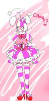 Rael Candy Dress color practice by luckyluckyluckypenny