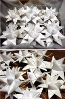 Froebel Paper Star Ornaments by SailingBreezes