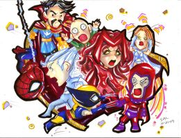 House of M Chibi by raccoon-eyes