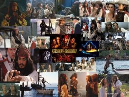 Pirates Collage by KArtWorks