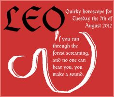 Quirky Leo Day by Creativeness