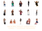 Girls Ulzzang Renders by amy91luvKey