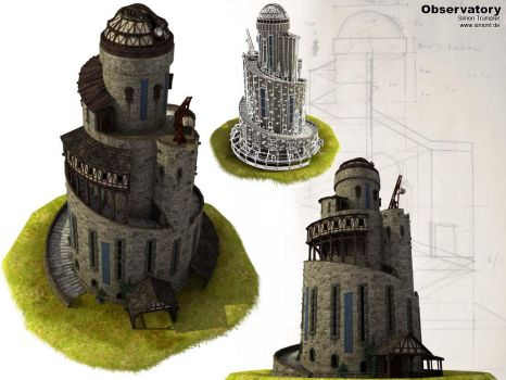 Old observatory by iLegacy