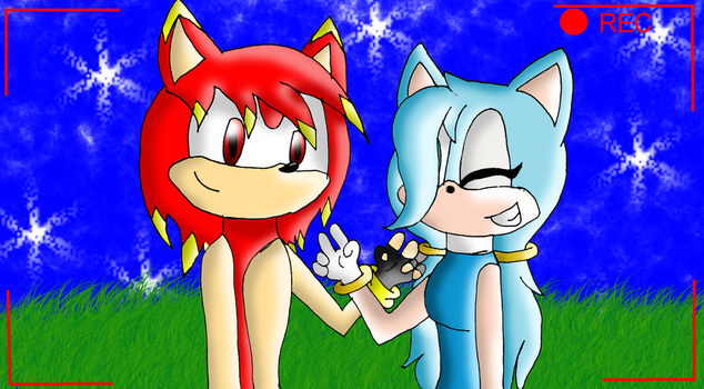 :PC: Peace under the Stars by Sonic-makes-me-smile