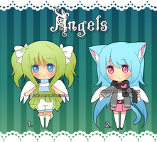 .: Mini Set: Angels (Closed) :. by nilmea