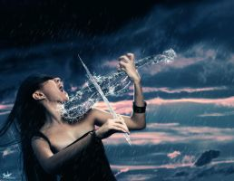 Water Violin by B-O-K-E