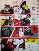 Adrian vs Benny and Darth Volker (ENDING) by AwesomeLatinoArtist