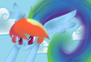 Rainbow Dash by MissRenaKitsune