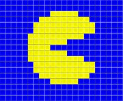 Pacman tiled by drsparc