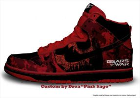 Gears Of War Dunks by pink-sage
