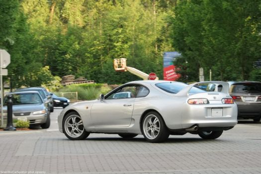 Silver Supra by SeanTheCarSpotter