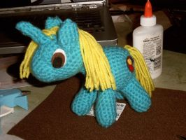 Acrylic Brony WIP- HAS ANYPONY SEEN HER? by SunnyFaceMLP