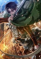 Attack on Titan - Levi Heichou by mandachan