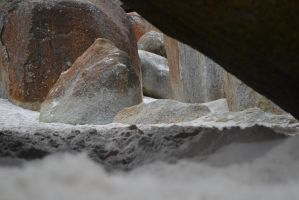 Beached rock crevice (Stock) by Stolen-Aura
