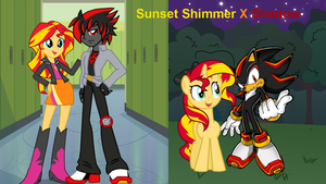 Sunset Shimmer X Shadow by CyrilSmith