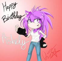 Ashley B-day by QT-Star