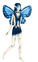 Adelle the Water Faerie by punkisstillcool