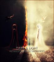 Dark And Light by D3vilusion