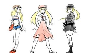 Pokemon XY: Ciennah Evolution by lewd-dodo