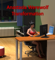 Anastasia Werewolf Transformation by linkazerty