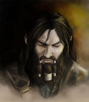 The bearded dwarf prince by rfcunha