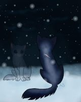 Crying in the snow by AnnMY