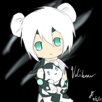 League of Legends: Volibear Chibi + Human by TheMuteMagician