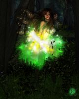 Forest Fairy by Dracofemi