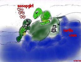 Turtle Love by ScoopGirl