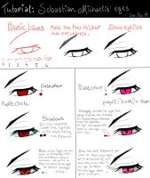 EYES 3: Sebastian Michaelis by Lily-Draws