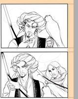 Comic page wip by SilvesterVitale