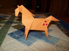 AT: origami Applejack by HolyCross9