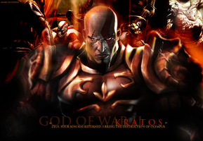 Kratos:God of War II by NewYorkGRIND