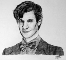 Doctor Who - Matt Smith - Drawing by LethalChris