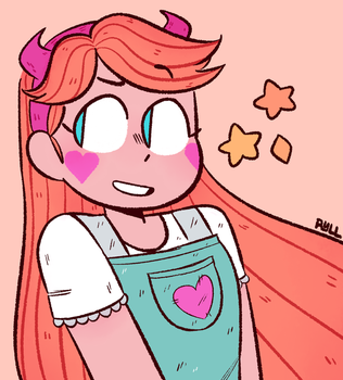 Star Doodle by ryllcat21