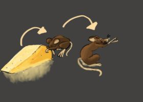 SquibySpoiler MH Brown mouse by THODRAGONFIRE