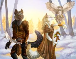 Fantasy Foxes - The Famel by fiszike