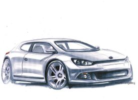 VW Scirocco by MartinEDesign