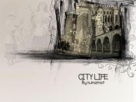 City Life - Baku by Numizmat