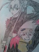 Soul and Maka by Poccahontas97