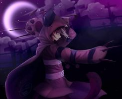 SpeedPaint-Cheshire Cat by Nyah-kun