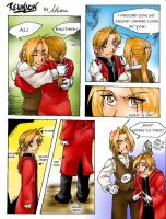 Why AL cut his hair FMA by Hikaru9