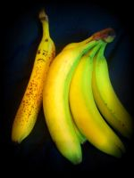 Miserable Spotted Banana by SIRENightengale