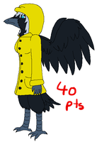 Anthro Crow Girl Adopt -OPEN- by D4RKT0RN4TH0R3