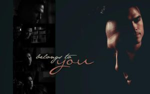 Damon Salvatore Wallpaper by McOlussska
