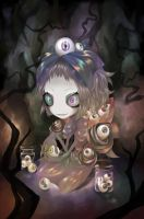 Eyeball Girl. by Meammy