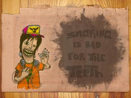 Smoking is bad for the teeth by wilsoninc
