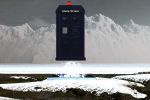 Tardis on the Planet Ood by Shango-ThunderStones