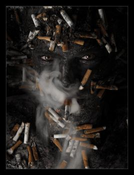 Human Ashtray by GoranDA