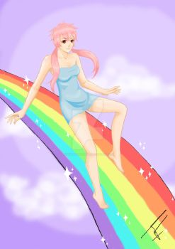 over the rainbow by nyeinayehtetsan